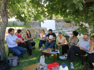 Librarians and Archivists to Palestine meeting with IPS