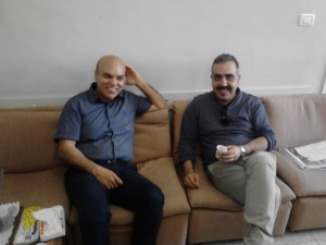 Salah Mohsen and Iyad Barghouti